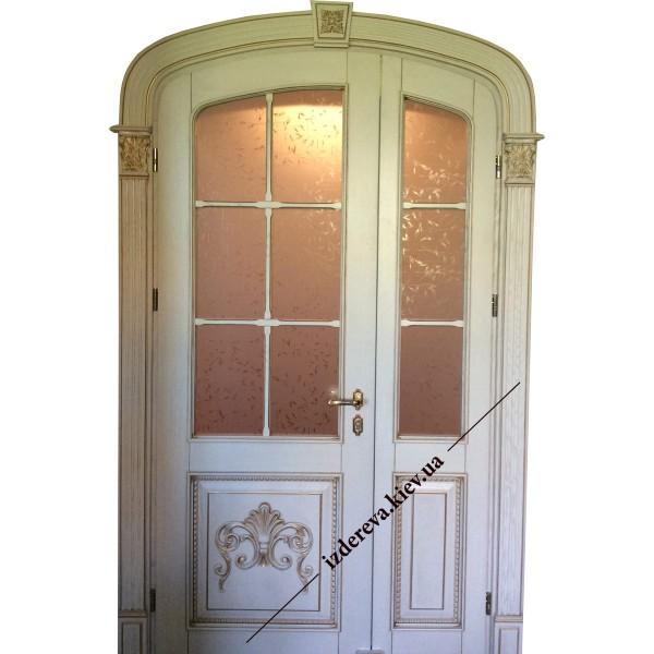 Арочные межкомнатные двери в классическом стиле