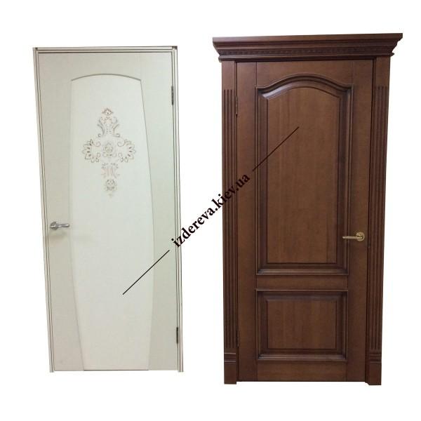Цены и фото двери из массива дерева каталог
