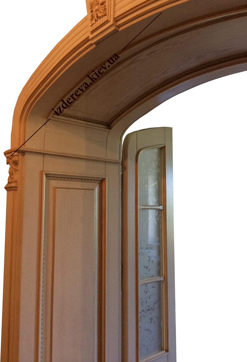 масивні аркові двері