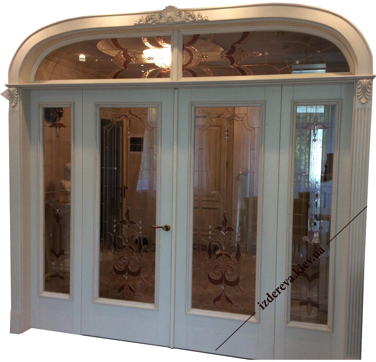 Міжкімнатні арочні двері Київ