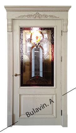 популярні дерев'яні арочні двері